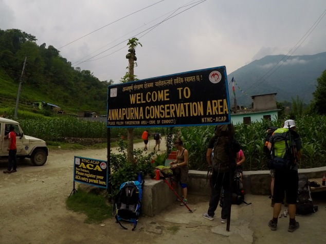 Annapurna Conservation Area Entrance