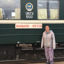 Stopped at the Mongolian/Russian border on the way to Irkutsk.